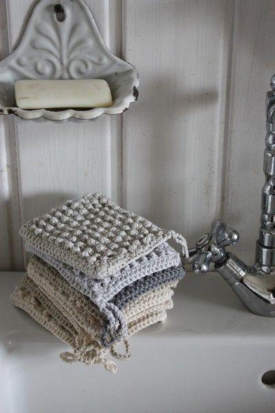 Enamel and crochet