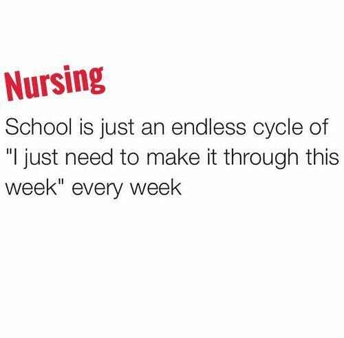How I study for nursing school. Nursing Student. Nursing School.