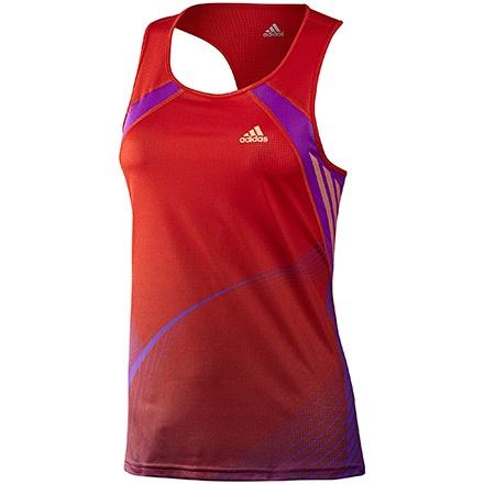 adizero Singlet Mujer, Core Energy / Ultra Purple by adidas