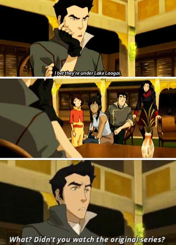 Legend of Korra/ Avatar the Last Airbender: I wish mako said this!! I know we all did lol
