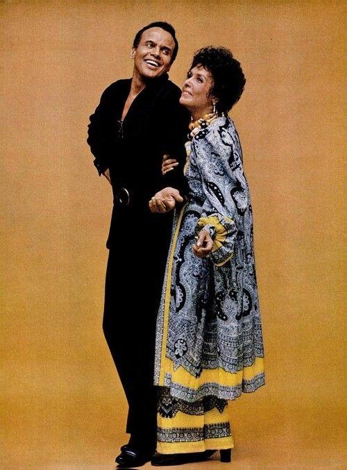 Harry Belafonte & Lena Horne, 1970.