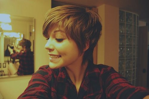 cute/feminine pixie cut