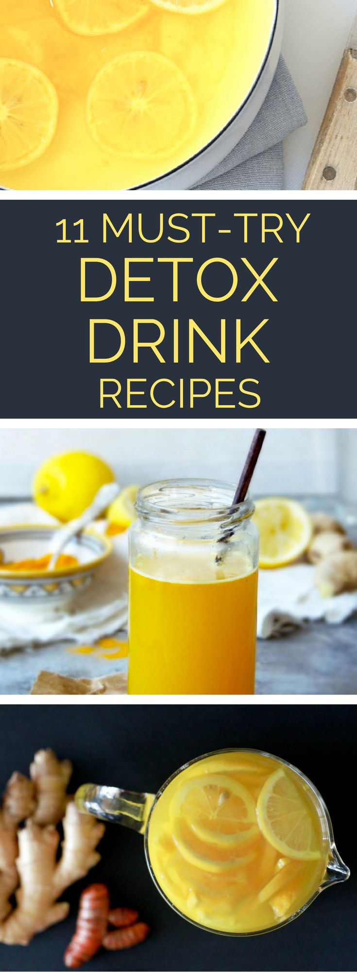 In need of a cleanse? These refreshing detox drink recipes are just what the doctor ordered! Mix one up and get ready to feel refreshed. // spryliving.com