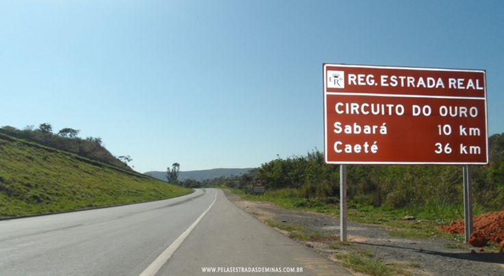 Foto: Sabará – MG – Estrada Real