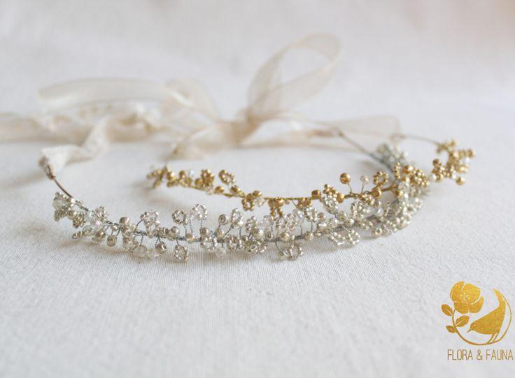 Tocados de Novia hechos a mano por Flora & Fauna Diseños #tocados #novia #bridal #headpiece #chile #hechoamano