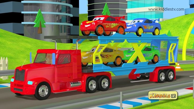 Teddy bear makes his loader truck to carry racing cars . Cars race on the racing track. See the video to find out who the winner is . | teddy | teddy bear | ...