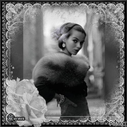 Ritratto donna vintage