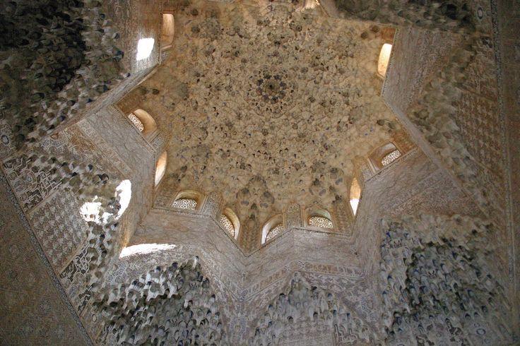Cúpula Sala Abencerrajes Alhambra de Granada