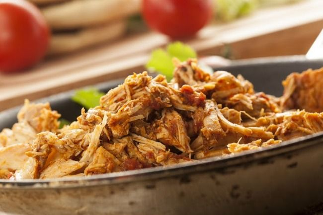 Slow Cooker Shredded Mexican Pork - Use for Burrito's, Enchilada's, Taco's, Salad and more!  www.GetCrocked.com