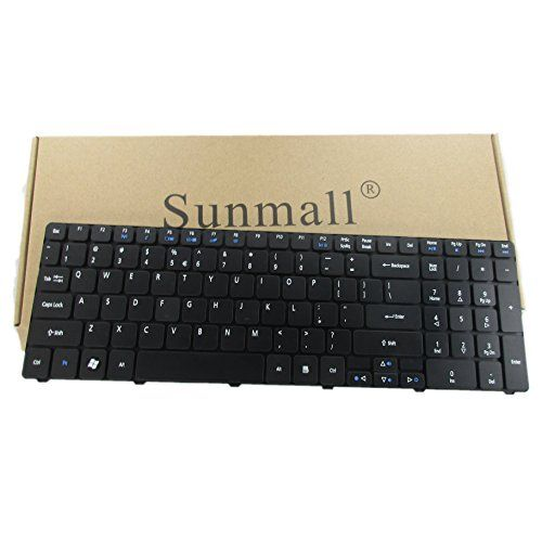 SUNMALL a6 Laptop Keyboard Replacement for Acer Aspire for 5250 5251 5253 5336 5551 5552 5560 5733 5733z 5736Z 5738Z 5740 5741 5742 5750 5750G 5810 7741 7551 Series US Layout (6 Months Warranty)  Unique, this keyboard is with ribbon cable compatible with acer aspire for aspire  Safe, easy for you replace your faulty, cracked or broken keyboard , seller remind that you should replace the keyboard in the off state  Pry repair tool, please check the asin b01mawmq9z if you need pry repair ...
