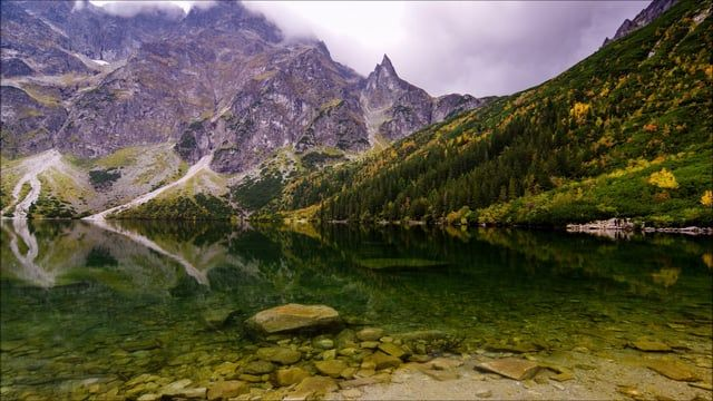 Time lapse video showing the beauty of Podhale and Tatra National Park region in southern part of Poland.