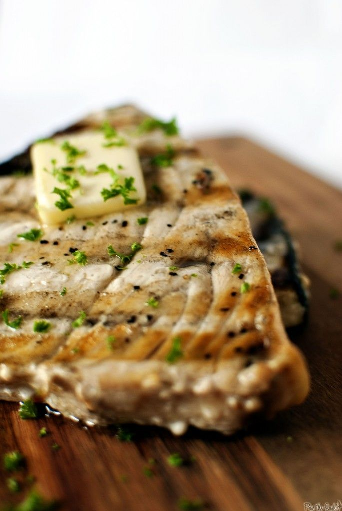 Grilled Swordfish Steaks...a regular @ our house!