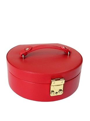 54% OFF Morelle & Co. Linda Half Moon Jewelry Box (Red)