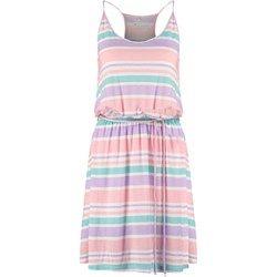 TWINTIP Sukienka z dżerseju salmon/ purple