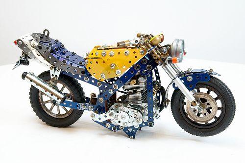 Meccano Motorcycle