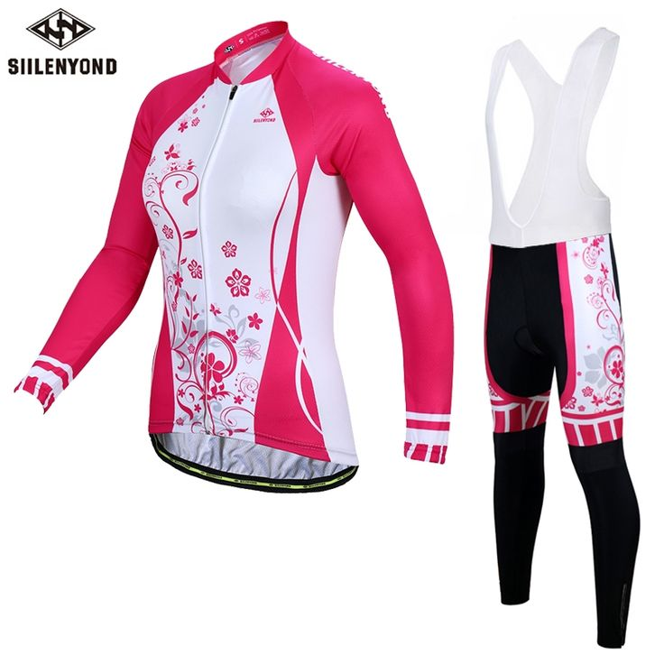 43.99$  Buy now - http://alidrb.shopchina.info/go.php?t=32790281600 - SIILENYOND Phoebe Winter Thermal Fleece Women Cycling Jerseys/Super Warm MTB Bicycle Sportswear Cycling Clothing For Womens 43.99$ #magazineonline