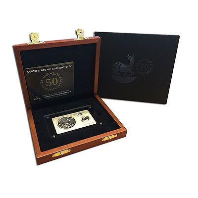 Krügerrand Silber: Silberbarren und Silbermünze Krügerrand limitiert auf 5000 Stück - South African Mint