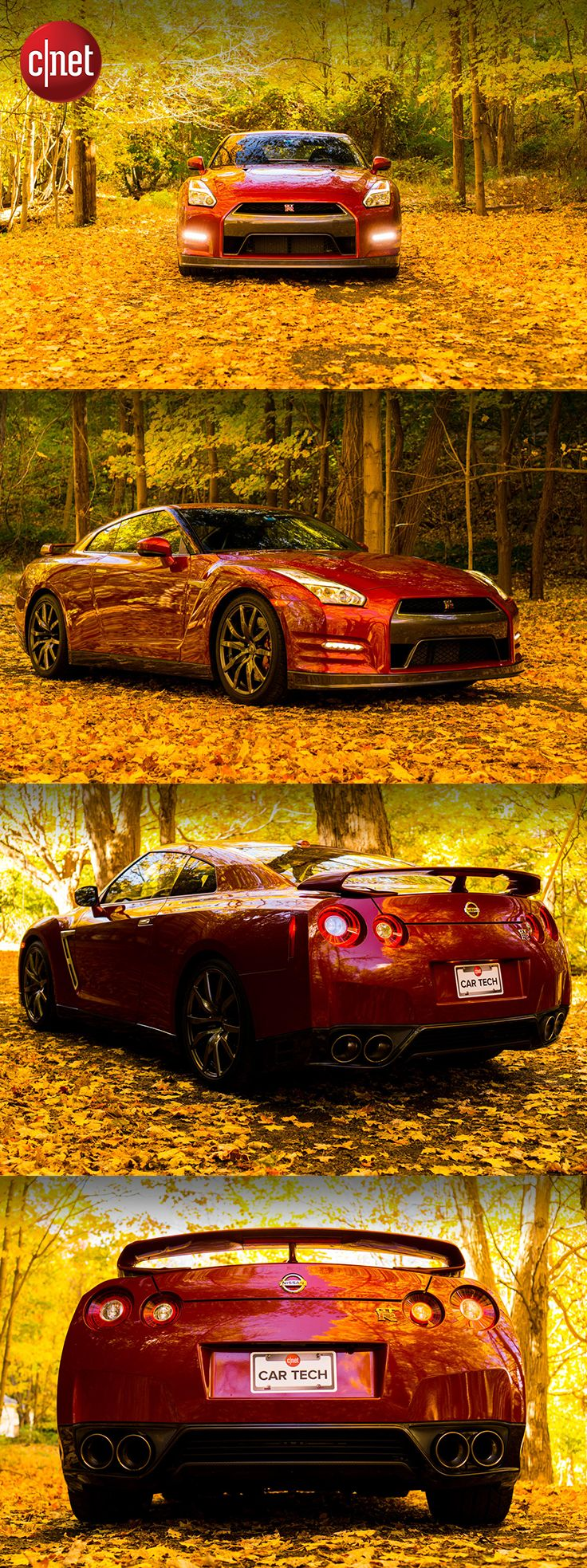 The 545-horsepower Nissan GT-R is a monster in sheep's clothing. It has astonishing acceleration and amazing performance in whatever conditions it finds itself in. See the full review of this beast of a supercar on CNET.