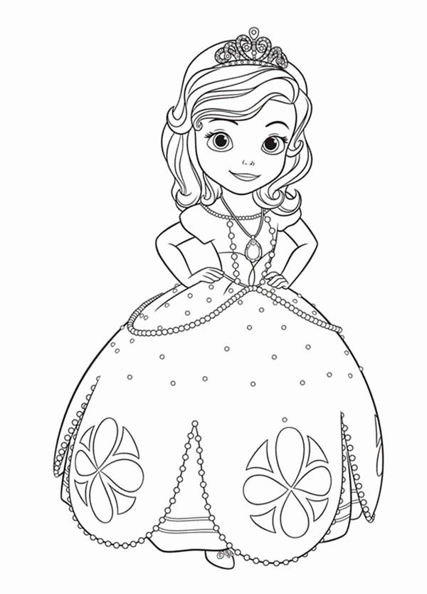 Sophia The First Coloring Book Inspirational Princess Sofia The