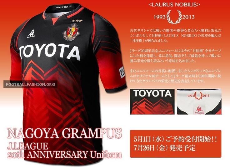 Nagoya Grampus J. League 20th Anniversary le coq sportif Jersey