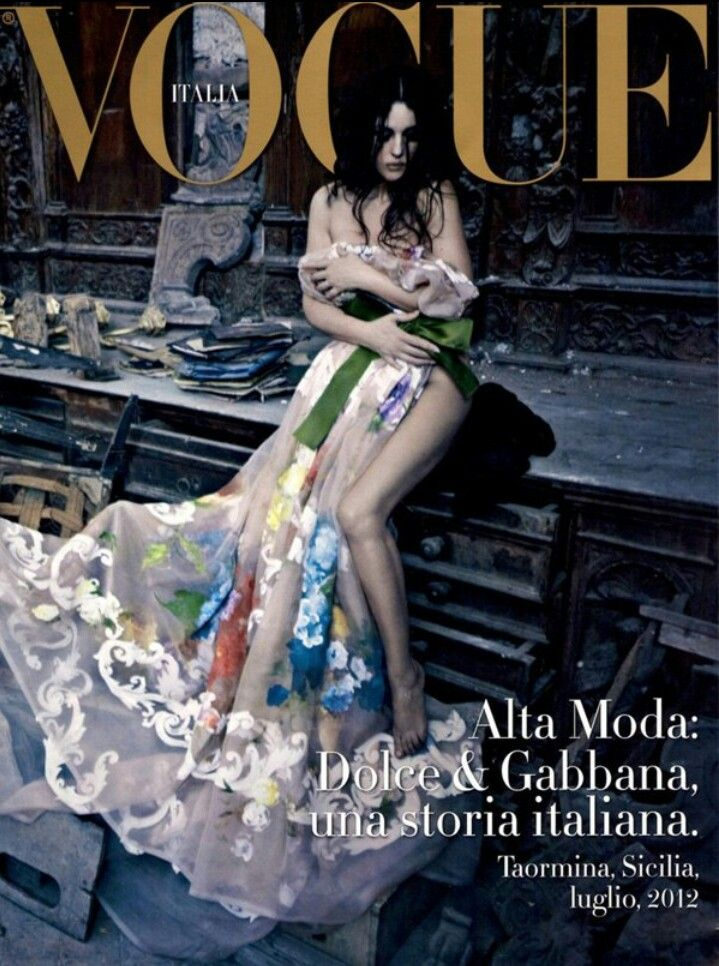 Моника Беллуччи (Monica Bellucci) для Vogue Italia. Фотограф Паоло Роверси (Paolo Roversi)