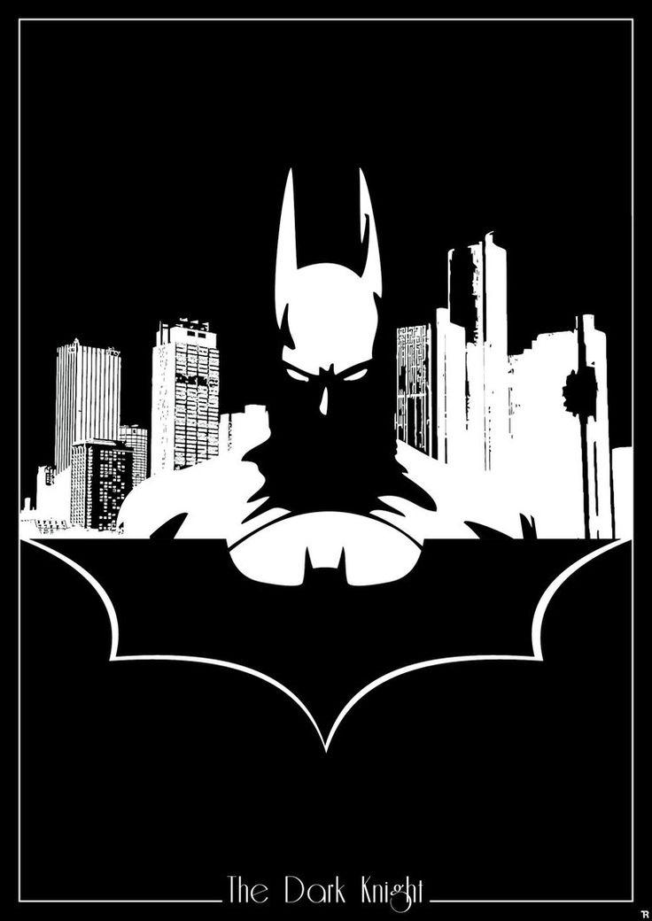 Batman Silhouette By R0mainT On DeviantArt   DC Comics ...