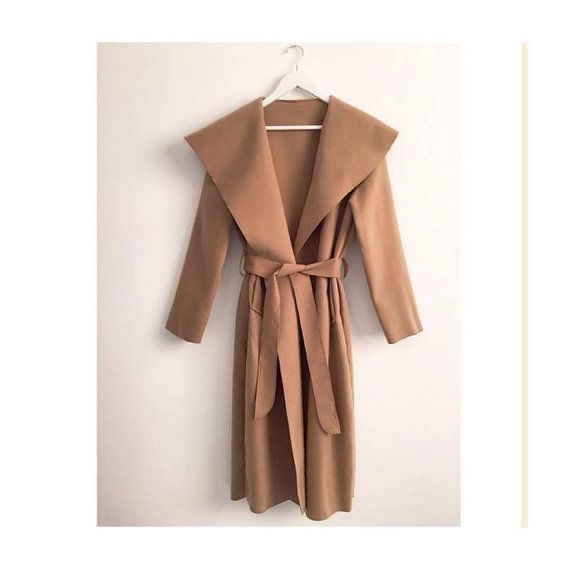 Mac Waterfall Trench Coat by AleenasBoutiquex on Etsy