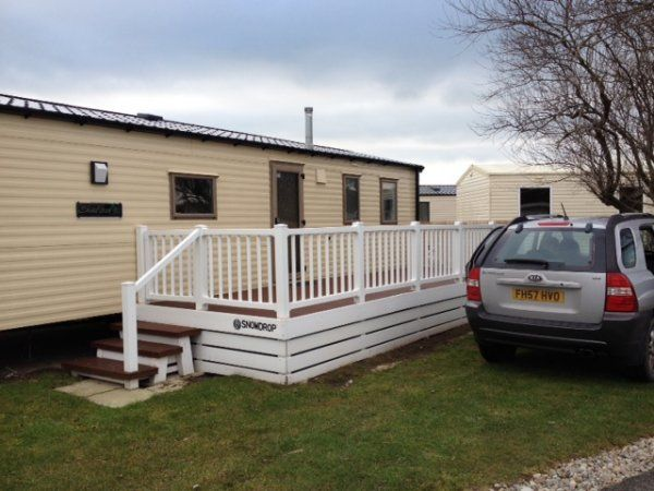 Original Static Caravan To Renthire In Heacham South Beach Nr Hunstanton