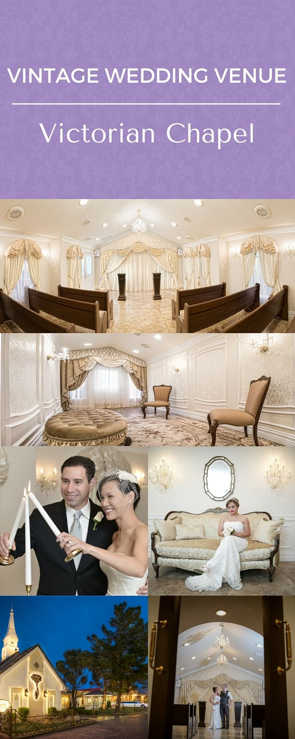Vintage Weddings at Chapel of the Flowers, historic Las Vegas Wedding Venue. Traditional wedding packages including flowers and photography from $495 and all-inclusive wedding packages from $1,095.