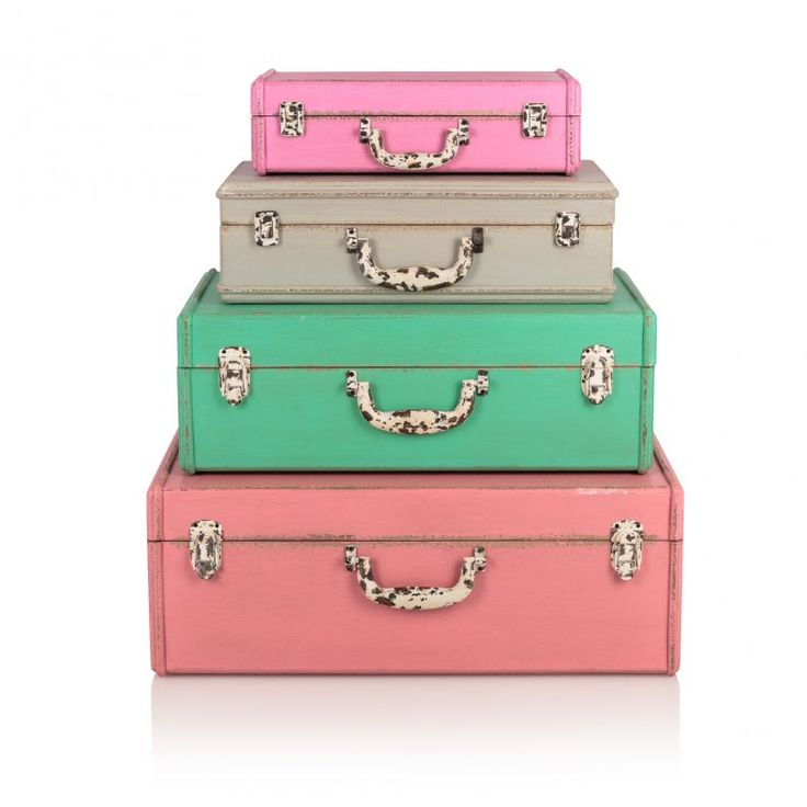 Medium Tropical Decorative Storage Suitcase | New | Oliver Bonas