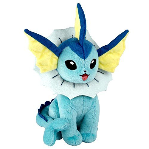 "Pokemon T19062L ""Eevee Evolution Vaporean"" Plush Toy Pokémon https://www.amazon.co.uk/dp/B06X1GJH1L/ref=cm_sw_r_pi_dp_x_ZbIDzbJPES2B4"