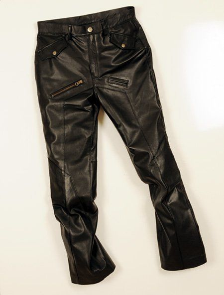 Leather Cargo Jeans - Style 01-2 - 50 Colors [Leather Jeans - 01-2] - $140.00 : Makeyourownjeans.com, Custom Jeans   Designer Jeans