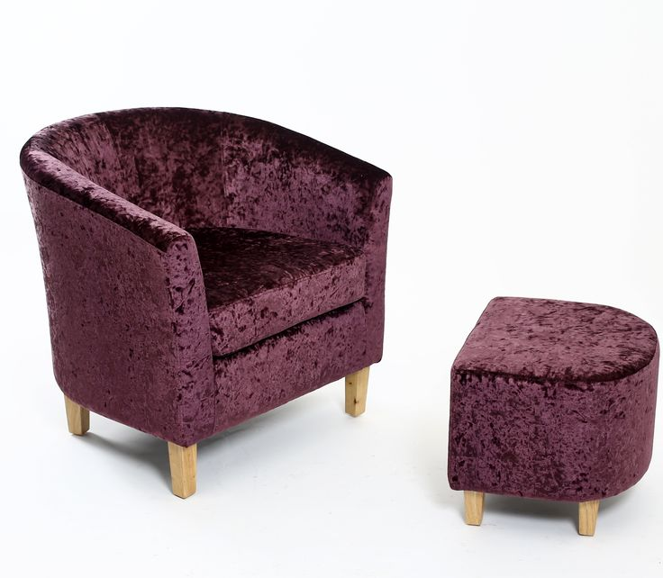 The Crushed velvet purple grape Tub Chair is a high quality set that  includes a free foot stool  finished in a thick and durable linen stripe  material 90 best Capital Dining chairs   Soft Seating images on Pinterest  . Purple Leather Dining Chairs Uk. Home Design Ideas