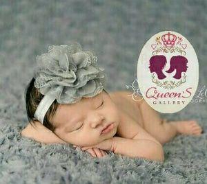 Bandana Bayi Anak Kembang Warna-Warni Bando   Baby Headband Import QG2