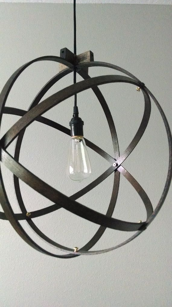 $115- 18 inch Modern Spherical Light/ Entryway Light/ by BlueOxHome
