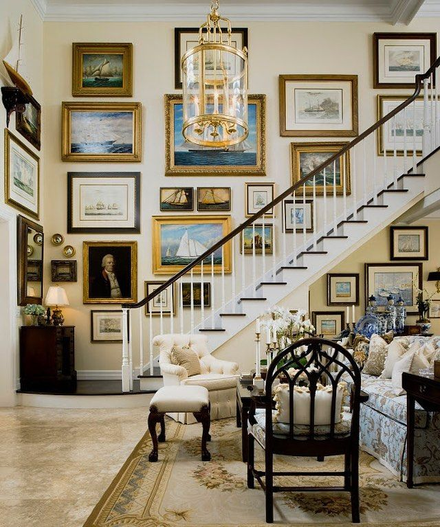 25+ Great Ideas About Gallery Wall Staircase On Pinterest