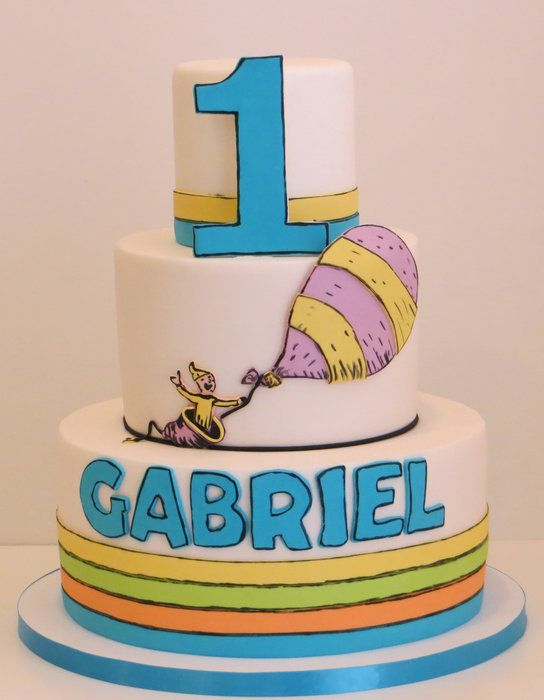 Cake Decorating Birthday Party Places : 17 Best images about Cake: Dr. Seuss on Pinterest Twin ...