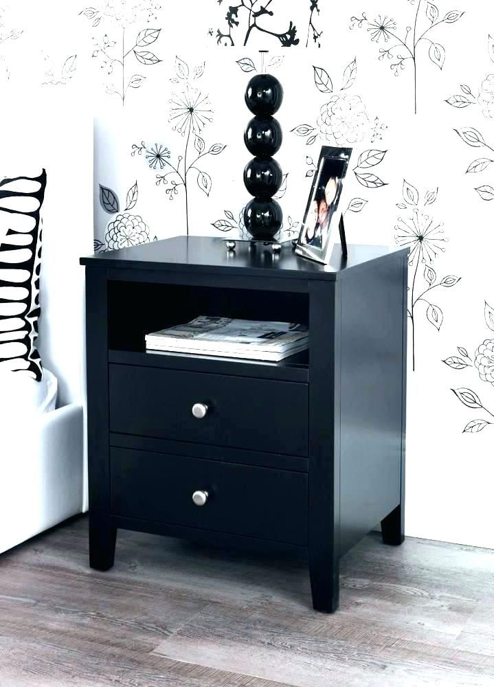 Bedroom Side Tables Black Bedside Table Black Bedside Cabinets