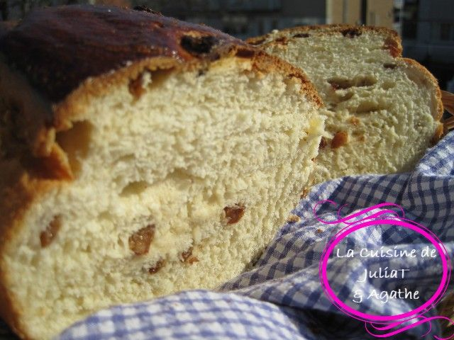 Cramique, pain brioché des Belges et des Ch'tits (Chtits) à la main ou à la MAP - La Cuisine de JuliaT  Agathe