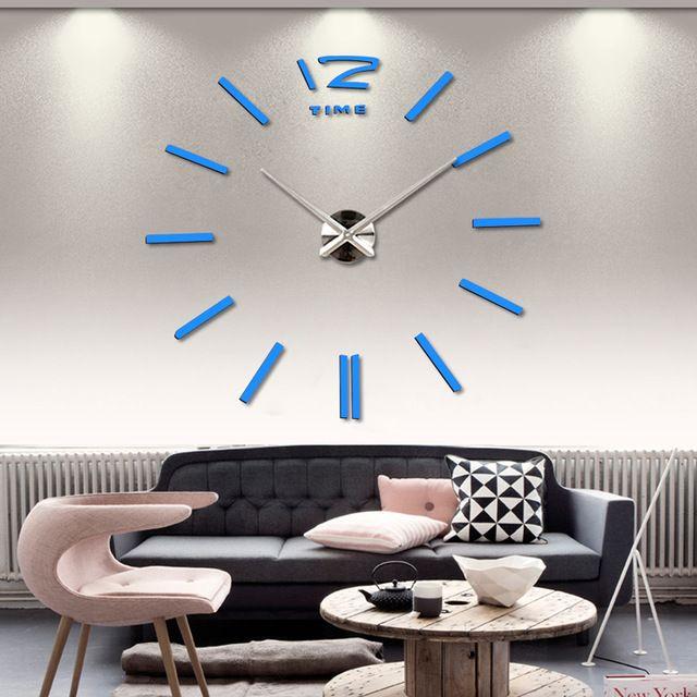 настенные часы большие декоративные домашнего декора гостиной росписи Поделки стикер на Алиэкспресс русском языке рублях
