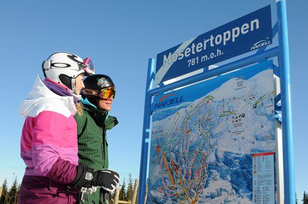 Новогодний Хафьель и Квитфель, а также тролли в формате 4G #Norway #ski #Hafjell