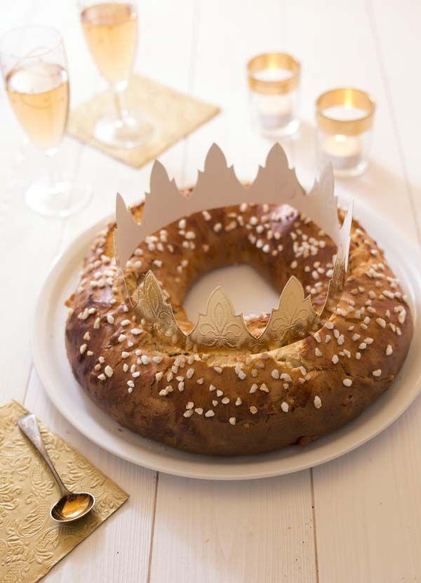 Photo recette Photo recette Brioche des rois aux fruits confits à la fleur d'oranger