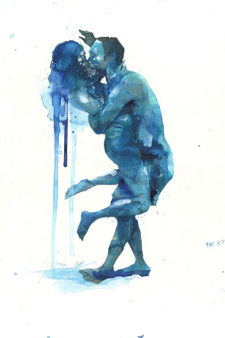 Lora Zombie painting