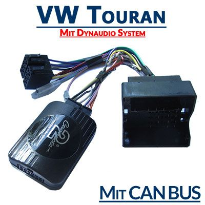 DerVW Touran 2003-2015 mit Dynaudio System hat in einigen Modellen eine Lenkradfernbdienung. Mit demVW Touran mit Dynaudio System Adapter für Lenkradfernbedienung kann man ein neues Autoradio ein…