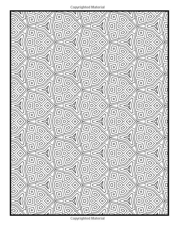Patterns Coloring Book Vol 10 Penny Farthing Graphics