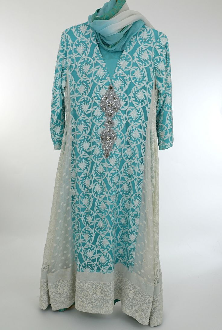Daamanz - Cool Blue and White formal dress, $238.00 (http://www.daamanz.com/formal/cool-blue-and-white-formal-dress/)