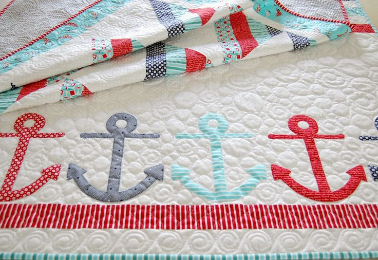 Today I am so happy to share with you my new patterns made with our   Bonnie and Camille  Daysail fabric collection.   We will be sho...