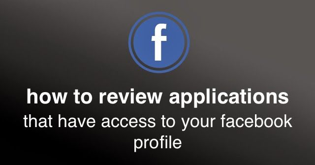 Review your #Facebook applications for security | Social Media, Software, Web on End of Line Magazine