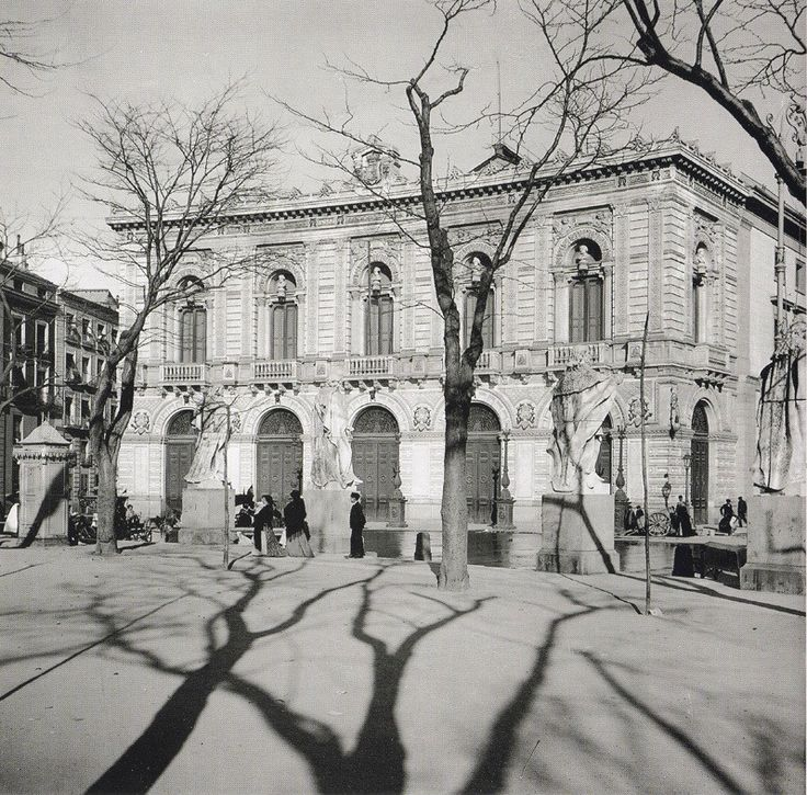 Teatro Real. 1912
