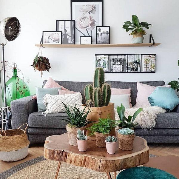 Plantas En La Decoracion Del Hogar Casas De Instagram Decoracion De Unas Decoracion De Soltero Decoracion De Interiores Salones